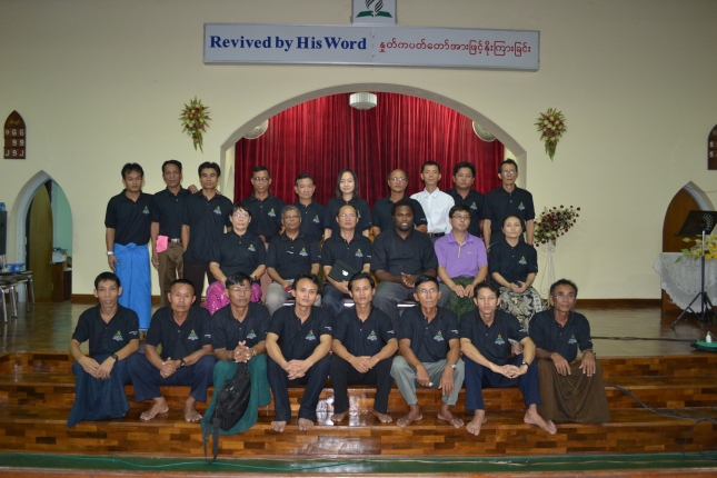 Graduation of the Global Pioneer workers in Myanmar. They will be sent to their various ethnic and language groups as evangelists.