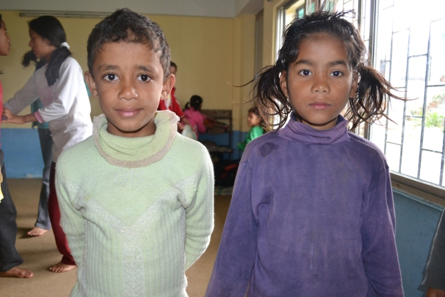 Young Orphans In Nepal
