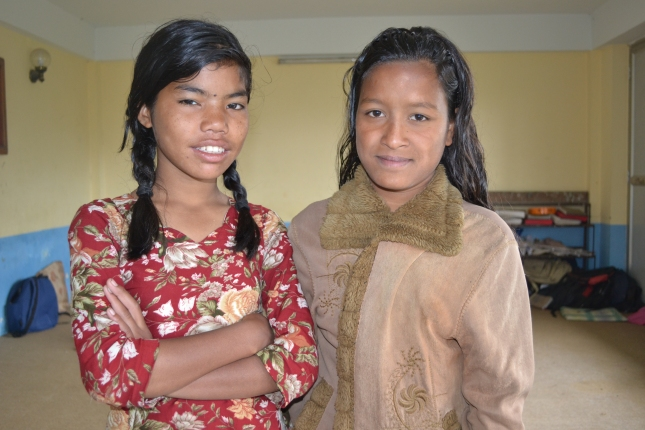 Orphan Girls In Nepal