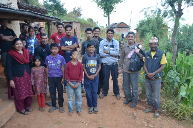 Visiting Mountain Villagers After Church
