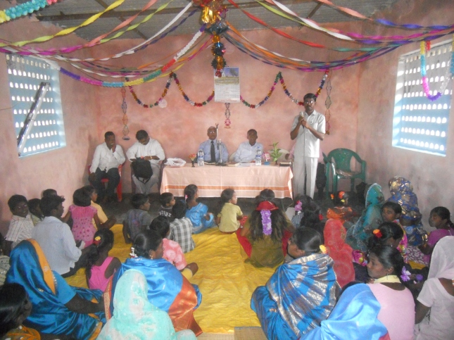 Latest Church Donated By Our Missionaries From Europe