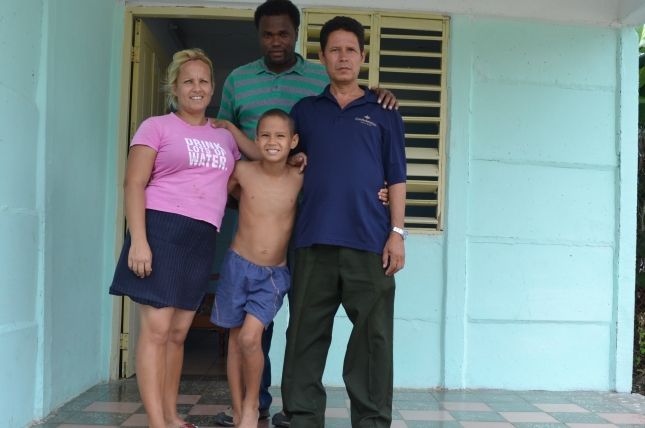 My Cuban Translator And His Family