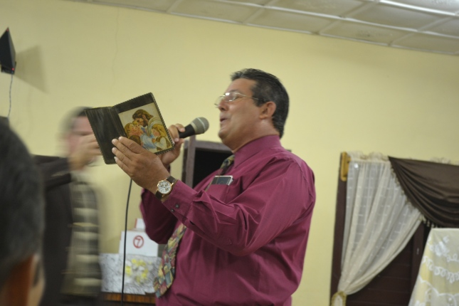 My nightly Evangelistic meeting in Holguin Province